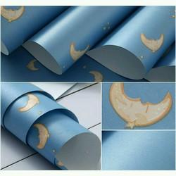 10m giấy dán tường mặt trăng khổ 60cm