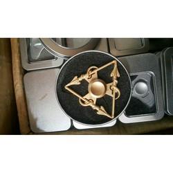 con quay tam giác đồng fidget spinner đồ chơi giải tỏa áp lực stress