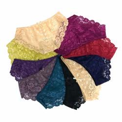 Bộ 10 quần chip đồ lót ren nữ cao cấp quyến rũ Nhiều Màu
