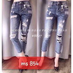 Quần jeans nữ rách cực đẹp