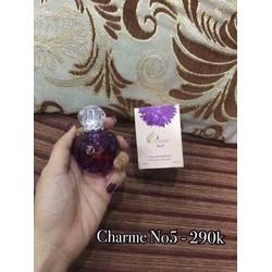 nước hoa Charme hương phấn No5