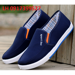 Giày lười - giày mọi nam - giày thể thao thời trang Hàn Quốc L12T3