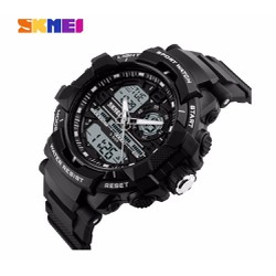Đồng hồ nam giá rẻ - Skmei thể thao kim điện tử chính hãng