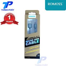 Cáp Sạc Romoss Micro Usb dây dù - Đen