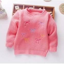 Áo len cho bé gái từ 1 - 4 tuổi