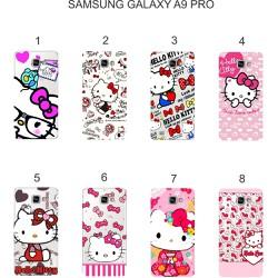 Ốp lưng Samsung Galaxy A9 Pro dẻo in hình Kitty