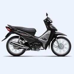 Xe số Honda Wave Alpha 110cc 2017- Đen bạc