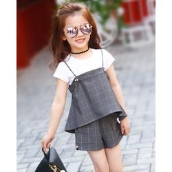Set đồ bộ bé gái 3- 11 tuổi, hàng nhập khẩu trực tiếp từ Hong Kong