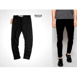 Quần jean nam skinny, quần jean nam màu đen ống ôm