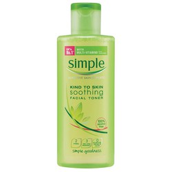nước hoa hồng simple kind to skin soothing toner