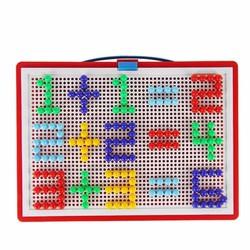Bộ đồ chơi ghép hạt nhựa thông minh Creative Mosaic 296 hạt cho bé