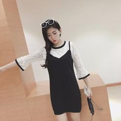 Đầm áo ren xinh
