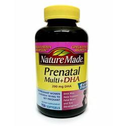 Dầu Cá Cho Bà Bầu Nature Made ® Prenatal Multi DHA