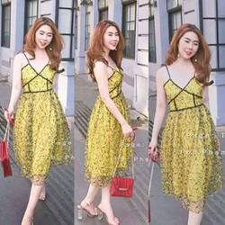 Đầm ren cao cấp Quảng châu