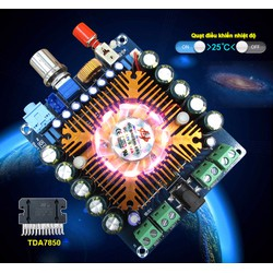 Mạch khuếch đại âm thanh TDA7850 4x50W