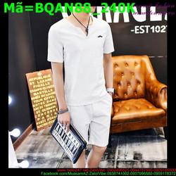 Bộ quần áo short nam nhiều màu thời trang BQAN88