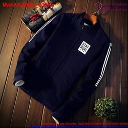 Áo khoác nam với chất liệu kaki thoáng mát, màu nhiều sắc AKAN96