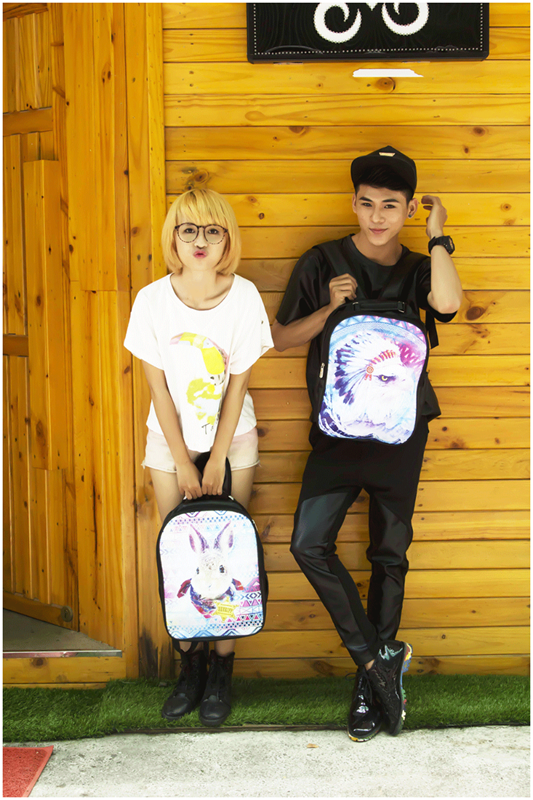 Balo Học sinh - Teen - Laptop Logo Naruto HOT - VBLMA065 3