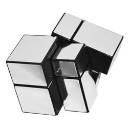 Đồ chơi Rubik Mir-two 2×2 mirror cube Bạc