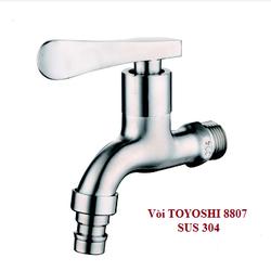 Vòi nước lạnh inox 304 mờ TOYOSHI