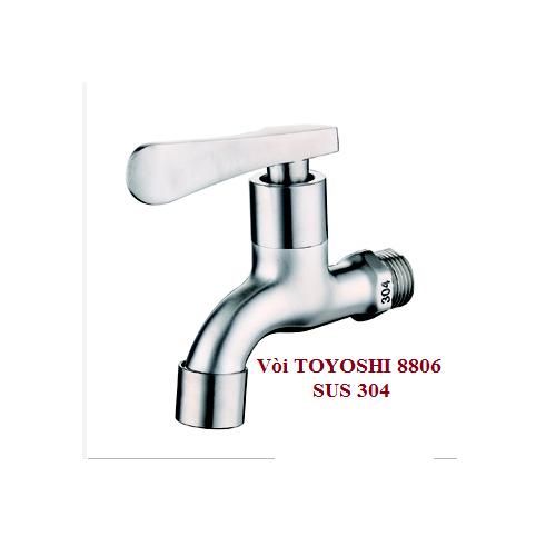 Vòi nước lạnh inox 304 mờ TOYOSHI - 4342423 , 5994062 , 15_5994062 , 135000 , Voi-nuoc-lanh-inox-304-mo-TOYOSHI-15_5994062 , sendo.vn , Vòi nước lạnh inox 304 mờ TOYOSHI