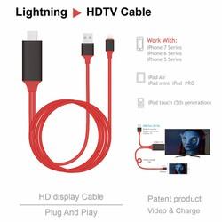Cáp HDMI cho iPhone - Sử dụng không cần cài đặt