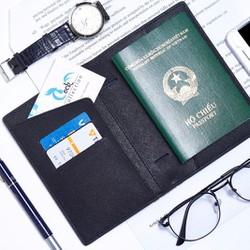 Ví passport SAM da thật cao cấp