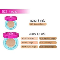 Phấn nước Cathy Doll AA Matte Powder Cushion Oil Control PA+++