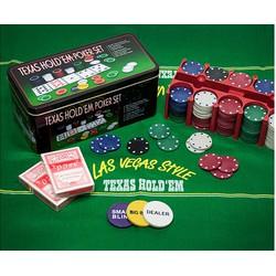 Bộ Trò Chơi Poker Chip Texas
