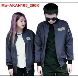 Áo khoác nhiều màu sắc phù hợp cho cả nam lẫn nữ, có dây kéo  AKAN105
