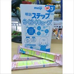 BÁN LẺ 1 thanh sữa Meiji dạng thanh số 9 , hàng nội địa Nhật