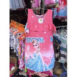 Váy lanh cho bé gái