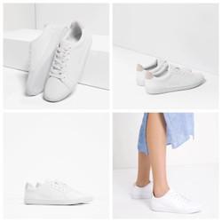 Giày sneaker trắng Xuất Xịn chính hãng