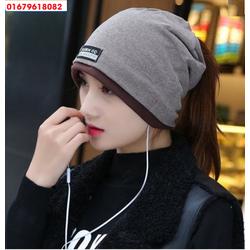 nón mũ chụp đầu đa năng, khăn đa năng Only girl Hàn quốc HNN151