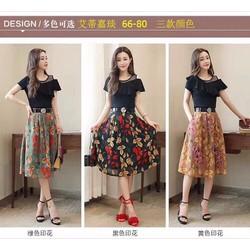 Váy voan duyên dáng - hàng Quảng Châu cao cấp