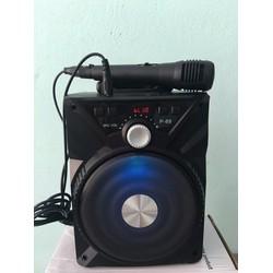 Loa Karaoke - Loa bluetooth P89 tặng kèm mic