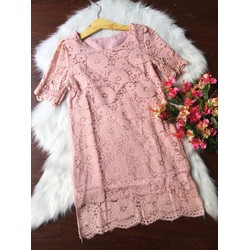 Đầm suông ren cao cấp