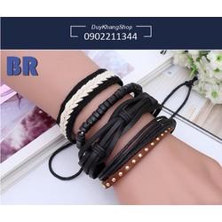 Combo 4 vòng đeo tay handmade thời trang