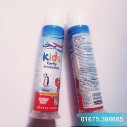 Kem đánh răng   trẻ em AquaFresh Kids Cavity Protection 130g
