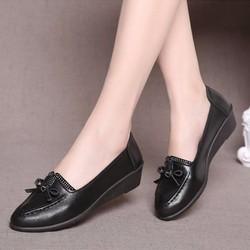 Giày Búp Bê đính nơ đi bộ cực êm chân - BB206D