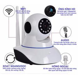 Camera IP Wifi Yoosee thông minh + thẻ nhớ 32GB
