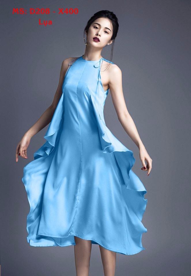 Đầm Lụa Thiết Kế Mới Lạ, Phong Cách 2
