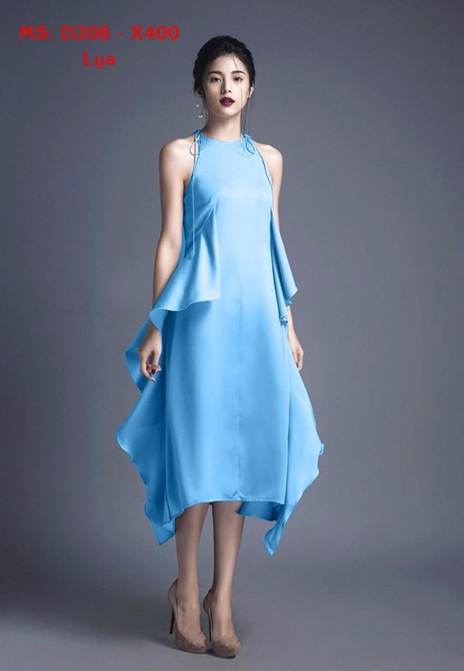 Đầm Lụa Thiết Kế Mới Lạ, Phong Cách 1