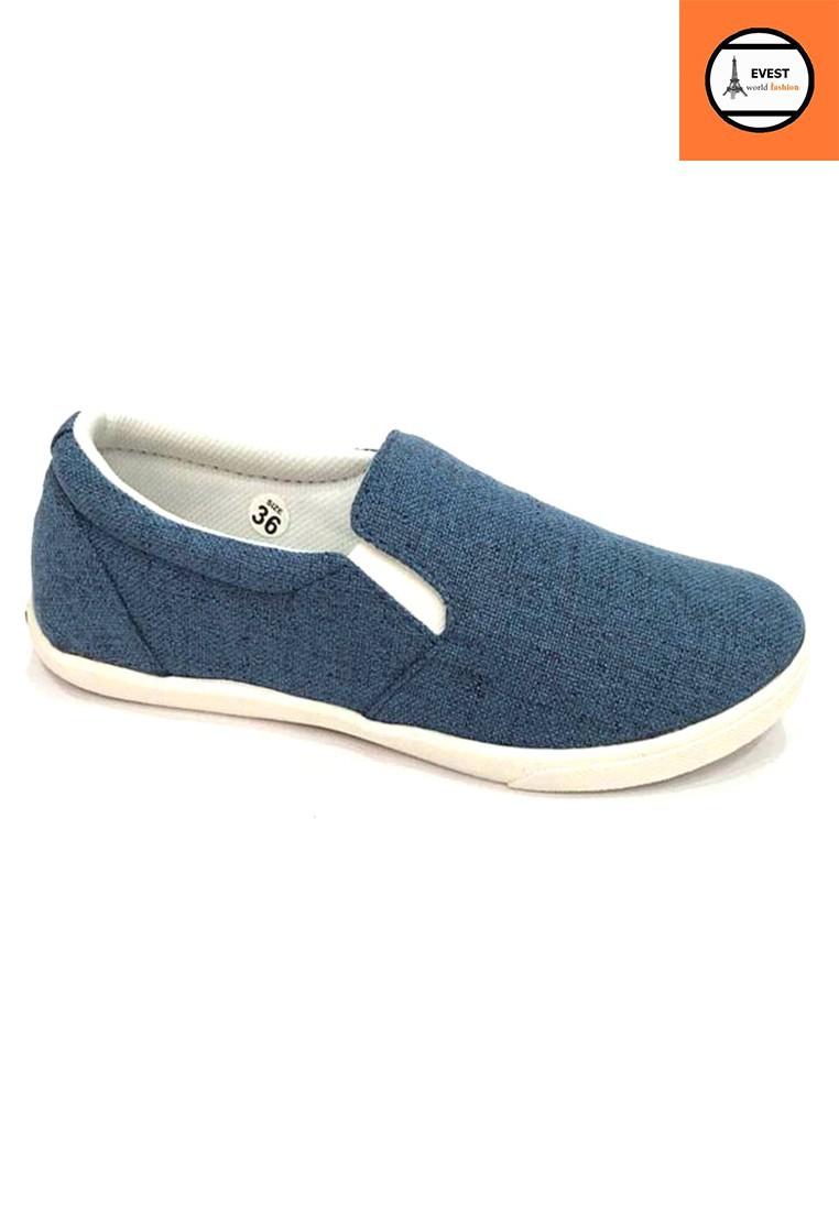 Giày vải nữ thời trang cá tính B67 1