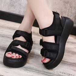 Giày sandal bánh mì cá tính S078D
