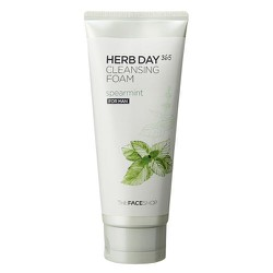 Sữa rửa mặt giành cho nam  Herb Day 365 Cleansing Foam Mint