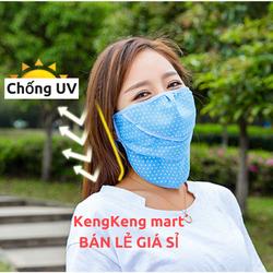 Khẩu trang UV chống nắng Nhật, bán lẻ giá sỉ