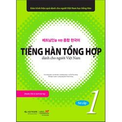Sách Tiếng Hàn tổng hợp sơ cấp