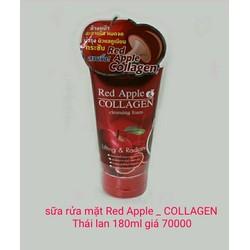 sữa rửa mặt Red Apple Colagen cao cấp nhập khẩu từ Thái lan