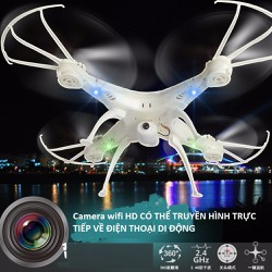 Máy bay 4 cánh Flycam YH511-2 kèm Camera Wifi HD